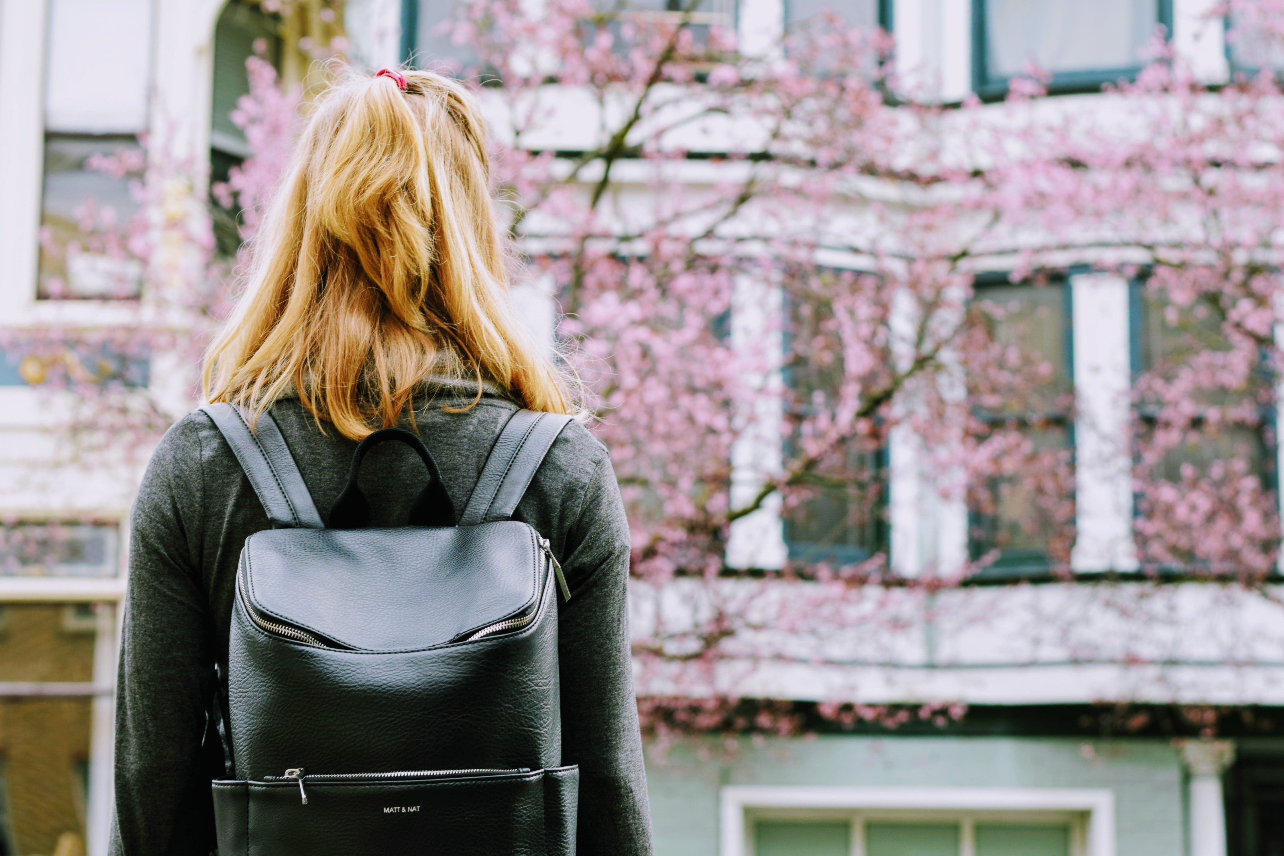 A woman struggling with depression faces a new day on campus