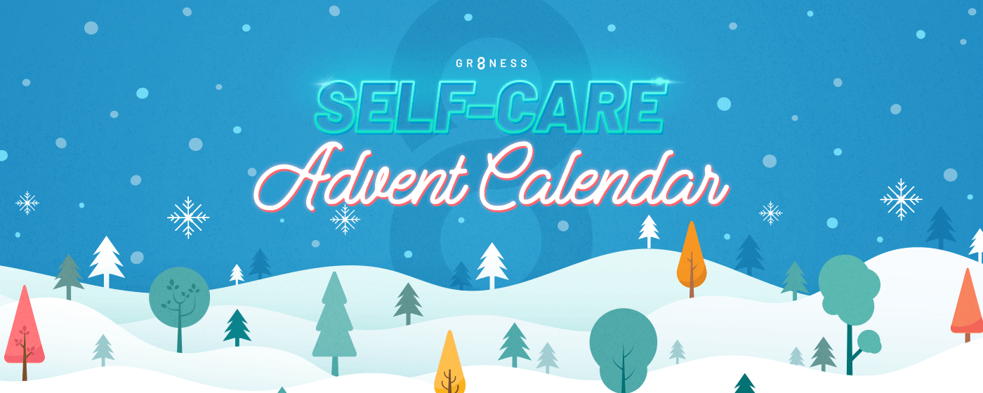 Self-care advent calendar