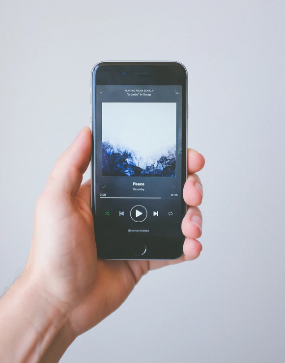 A Spotify playlist with your favorite songs is a form of self-care