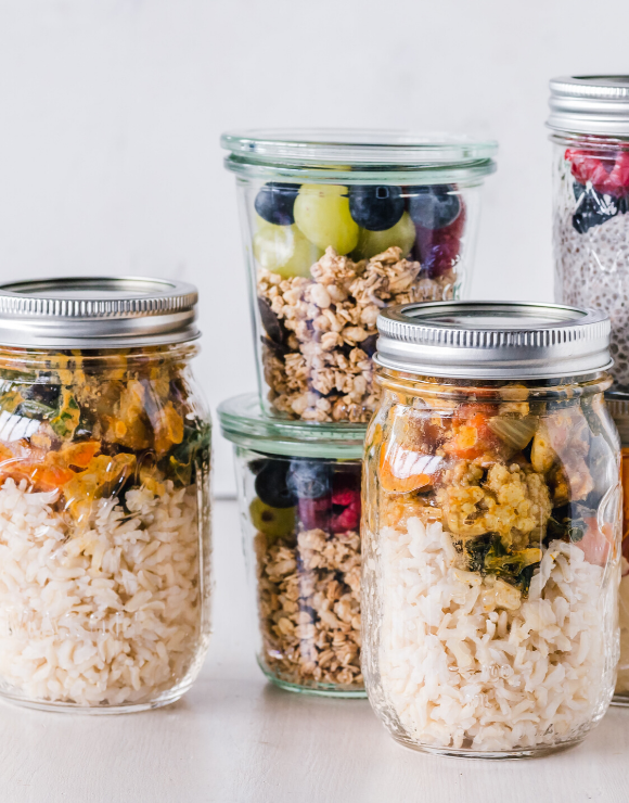 Healthy meal-prep, an unconventional way to practice self-care