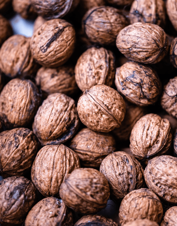 Fresh walnuts packed with nutrients to help reduce cardio vascular disease